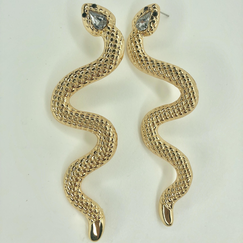 pendientes serpiente